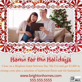 Holiday Real Estate Flyer