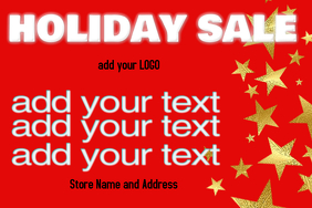 HOLIDAY SALE TEMPLATE