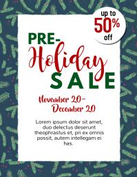 holiday sale Iflaya (Incwadi ye-US) template