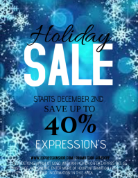 HOLIDAY SALE Flyer (US Letter) template