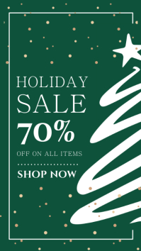 Holiday Sale Instagram Story Template