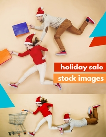 Holiday Sale Stock Images ใบปลิว (US Letter) template