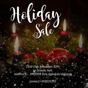 Holiday sale VIDEO Ad