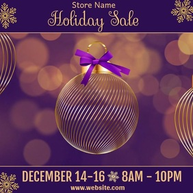 Holiday Sale Video