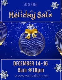 Holiday Sale Video Flyer