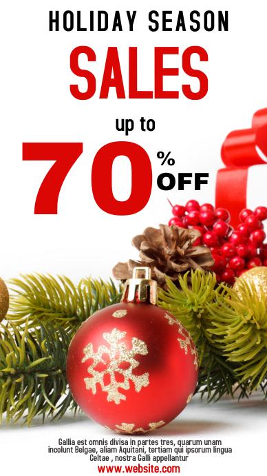 Holiday season sales whatsapp status 1920x108