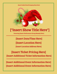 Holiday Show Template
