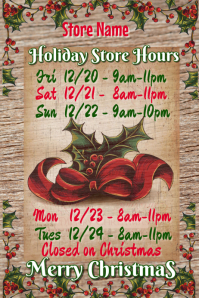 Holiday Store Names