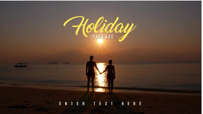 Holiday Summer Video Template