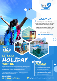 Holiday Tour & Travel Flyer
