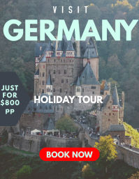 HOLIDAY TOUR TRAVEL AGENCY FLYER