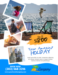 Customizable Design Templates for Vacation Flyer | PosterMyWall