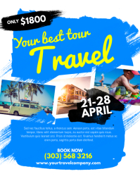 Customizable Design Templates For Tour Packages Postermywall
