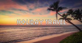 Holiday Travel Social Media Header