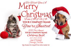 Holiday X-Mas SPCA Animal Pet Santa Cute Adopt Donate Shelte