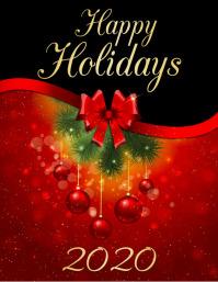 holidays, happy holidays, winter flyer