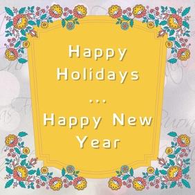 Holidays Card Template