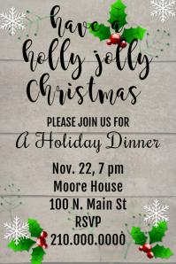 Holly Invite