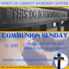Holy Communion Sunday
