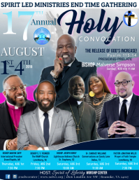 Holy Convocation Anniversary Conference