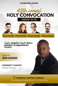 holy convocation Flyer Template