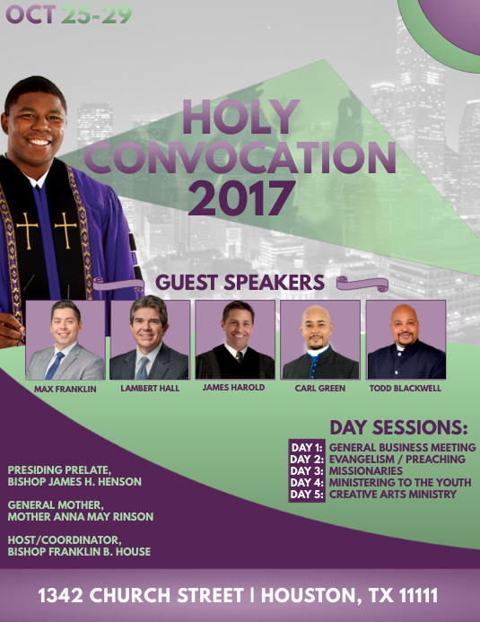 Holy Convocation