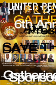 Superior Church Flyer. Family And Friends. Holy Gathering/Convocation