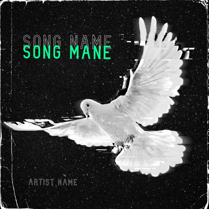 Holy Spirit album cover art design template