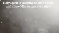 Holy Spirit Tampilan Digital (16:9) template