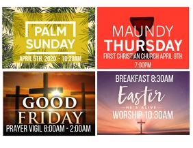 Holy Week Flyer