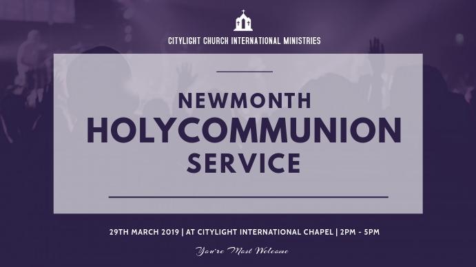 holycommunion church flyer