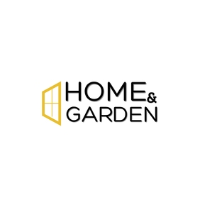 HOME & GARDEN LOGO Logotipo template