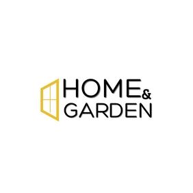 HOME & GARDEN LOGO Logotipo template