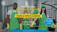 Home & Office Cleaning Services Video Ad Umbukiso Wedijithali (16:9) template