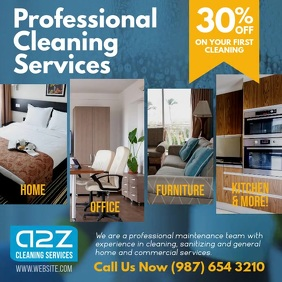 Home and Office Cleaning Services video ad