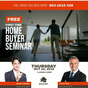 Home Buyer Seminar Instagram Post