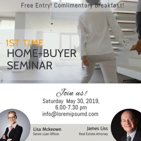 Home Buyer Seminar Instagram Vedio Post