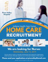 Home Care Recruitment Flyer