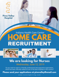 Home Care Recruitment Flyer