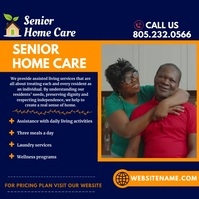 Home Care Video Flyer Ad Pos Instagram template