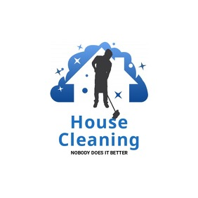 Home Cleaning Service Logo Логотип template