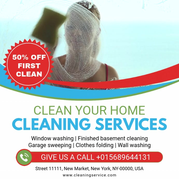Home Cleaning Service Online Advert Video