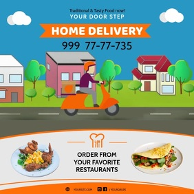 Home Delivery Curbside Delivery Instagram Ad