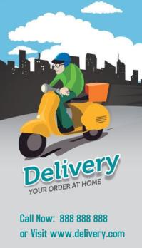Home Delivery Biglietto da visita template