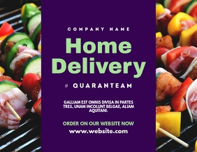 home delivery flyer advertisement
