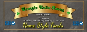 Home Delivery Take-Away Facebook Banner