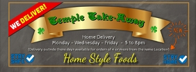 Home Delivery Take-Away Facebook cover