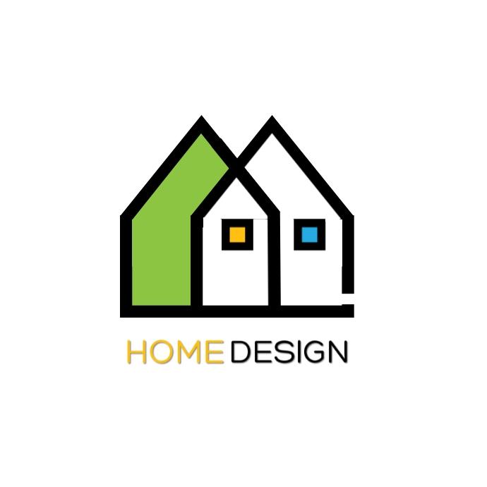 HOME DESIGN Logo template