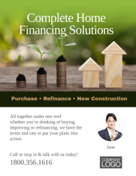 Home Financing Solutions Flyer Template