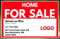 Home For Sale Sign Template Tablóide